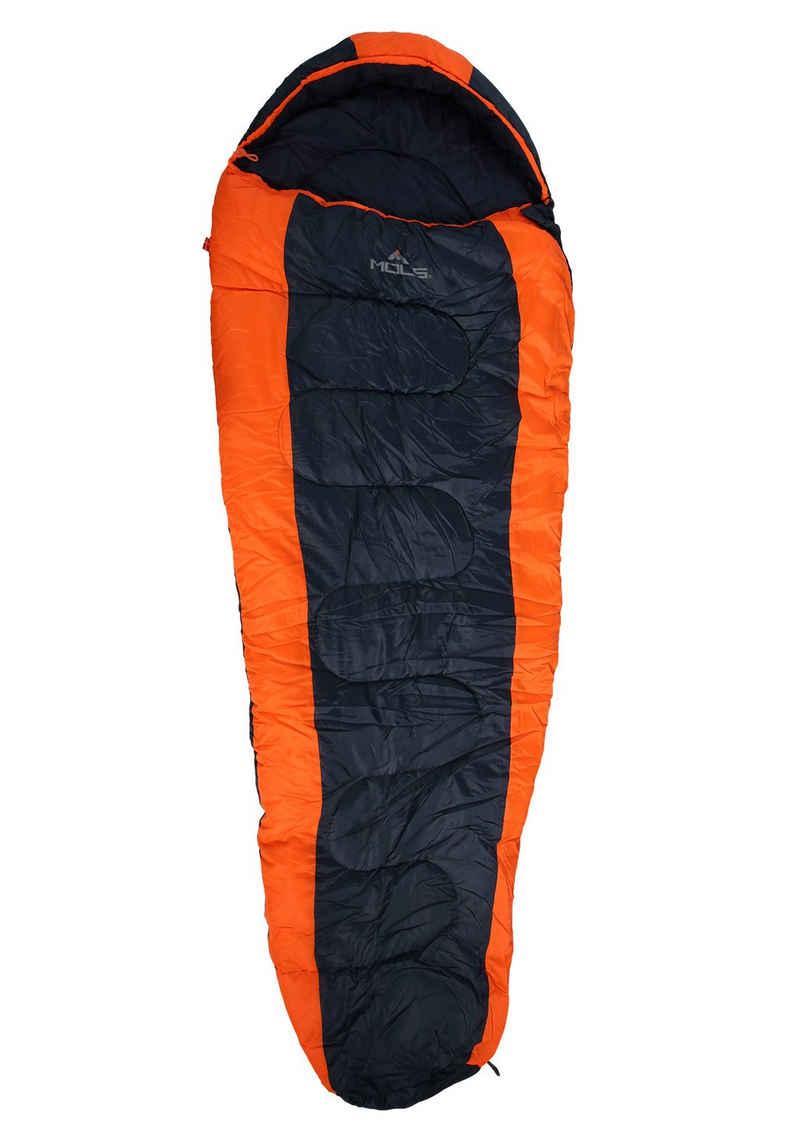 MOLS Trekkingschlafsack »Strands«, in sportlichem Look