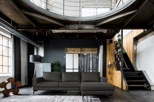 Sofas - Kasper Wohndesign Sofa »BLOOM«, Leder Retro versch. Farben Recamiere rechts o. links  - Onlineshop OTTO