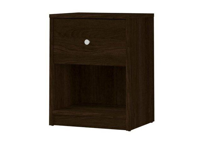 Nachttische - ebuy24 Nachttisch, Nachtkonsole »Maria Nachttisch 1 Schublade und 1 Raum kaffefarbe«  - Onlineshop OTTO