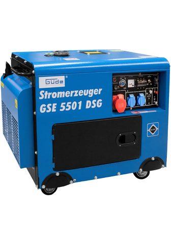 Güde Güde Stromerzeuger »GSE 5501 DS« 65 in...