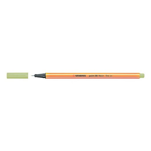 STABILO Fineliner »point 88® neon«, (1-tlg), in leuchtender Neonfarbe