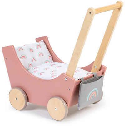 MUSTERKIND® Puppenwagen »Barlia, altrosa/natur«