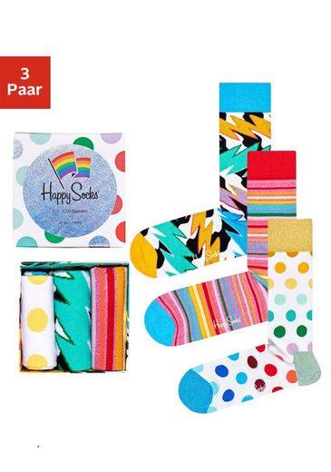 Happy Socks Socken »Pride Box« (Box, 3-Paar) in ansprechender Geschenkbox