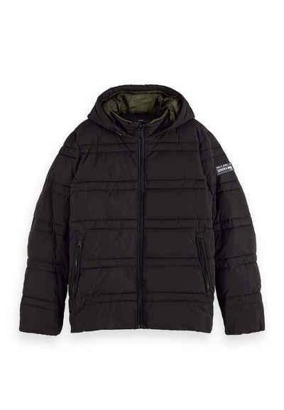 Scotch & Soda Kurzjacke »Scotch & Soda Jacket Men CLASSIC HOODED PRIMA LOFT JACKET 152012 Black Schwarz 0008«