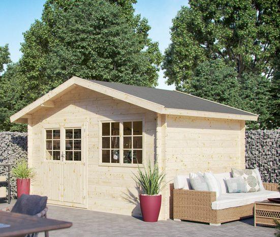 Kiehn-Holz Gartenhaus »Gipsberg 1«, BxT: 437x331 cm, (Set)