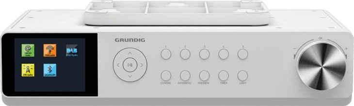 Grundig »DKR 3000 BT DAB+ WEB« Küchen-Radio (Digitalradio (DAB), FM-Tuner, Internetradio, FM-Tuner mit RDS, 14 W)