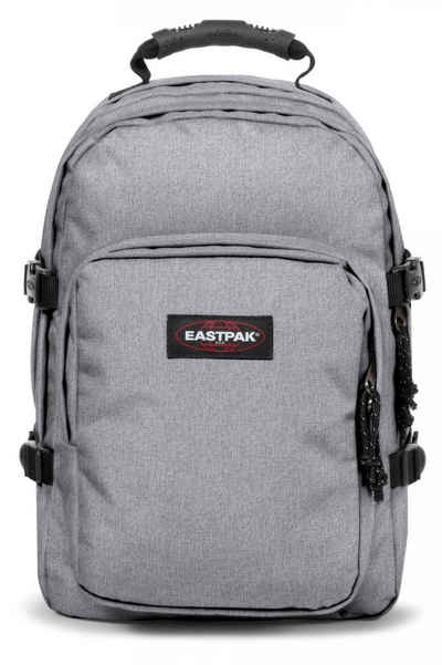 Eastpak Laptoprucksack »PROVIDER, Sunday Grey«, enthält recyceltes Material (Global Recycled Standard)