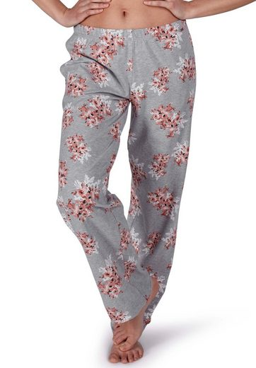 Skiny Pyjamahose mit Blumenprint »Sleep and Dream«