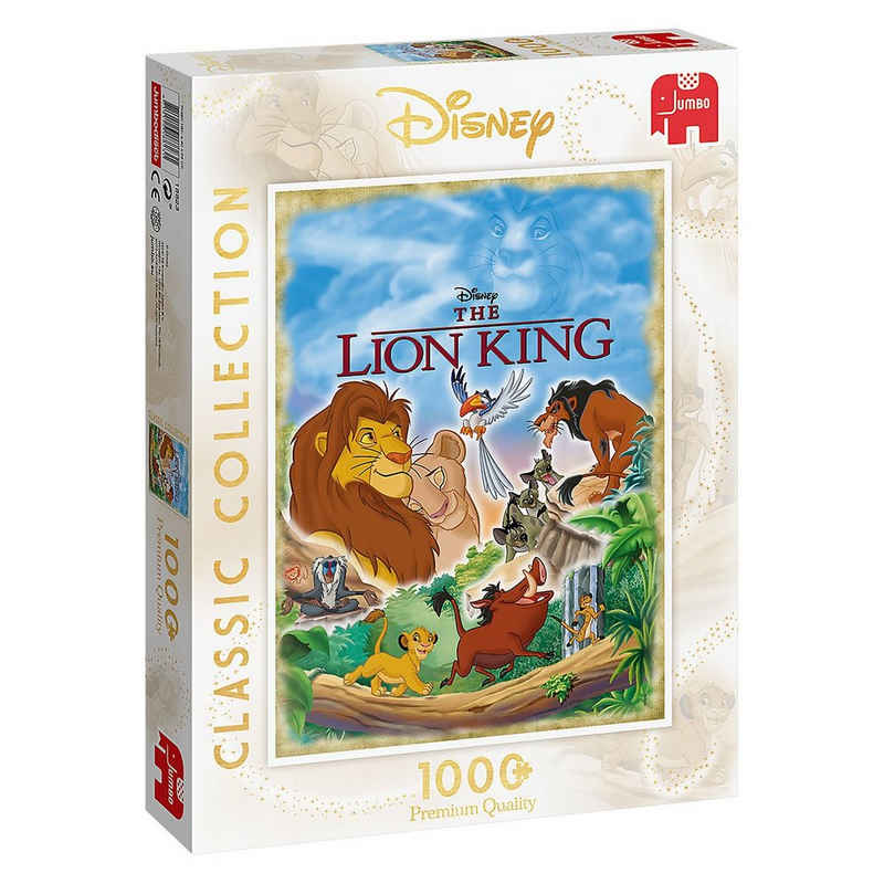 Jumbo Puzzle »Puzzle Disney Classic Collection The Lion King,«, Puzzleteile