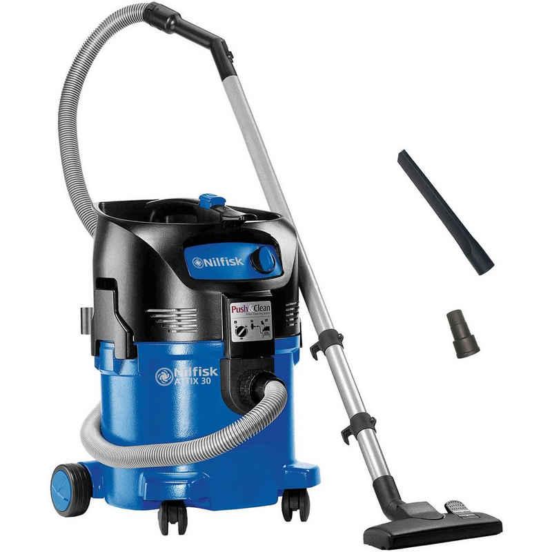 Nilfisk Nass-Trocken-Sauger ATTIX 30-21, 1500 Watt, Einschaltautomatik, Push&Clean