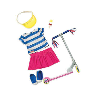 Our Generation Puppenkleidung »Deluxe Outfit mit Roller für 46cm Puppen«