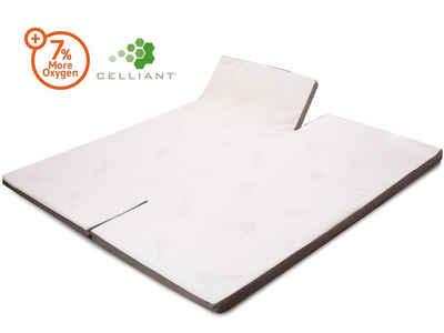 biberna Sleep /& Protect Matratzenauflage Matratzen Auflage Schutz Weiß 100x200cm