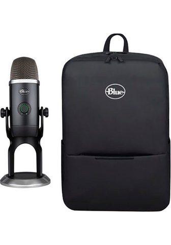 Blue Streaming-Mikrofon »Yeti X« ir kuprinė...