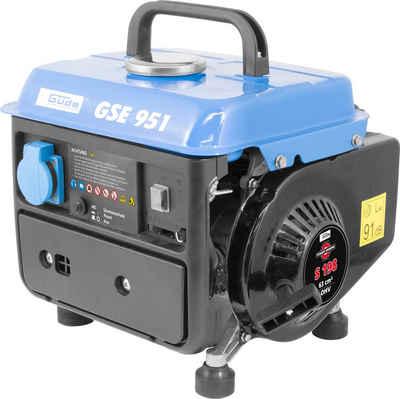 Güde Stromerzeuger »GSE 951«, 1 in kW, 1 x Schuko 230 V/50 Hz
