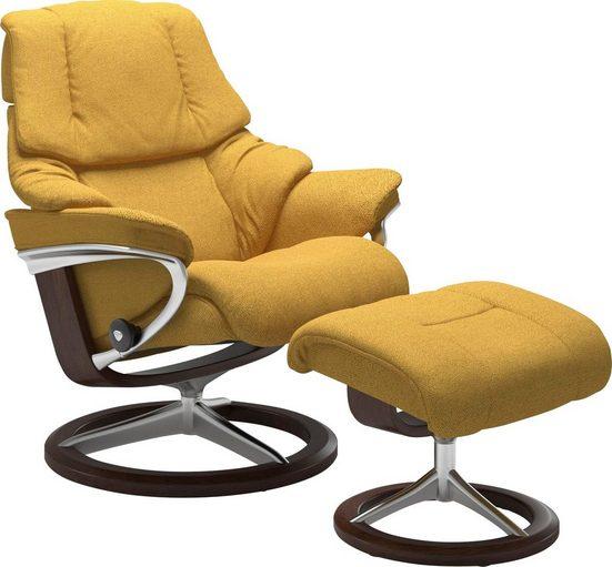 Stressless® Relaxsessel »Reno«, mit Signature Base, Größe S, M & L, Gestell Braun