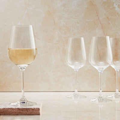 BUTLERS Weißweinglas »SANTÉ 6 x Weißweinglas 360ml«, Kristallglas