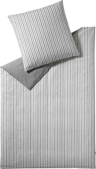 Wendebettwäsche »Herringbone«, Esprit, mit Fischgrät-Muster