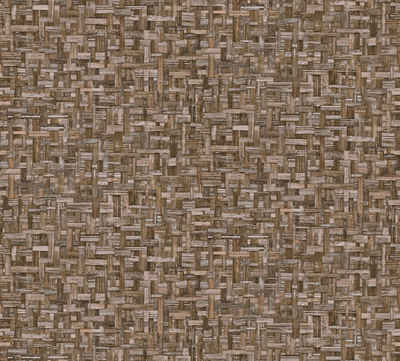 Architects Paper Vliestapete »Jungle Chic«, glatt, Flechtoptik