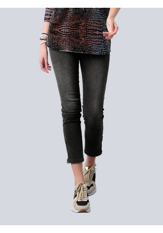 Alba Moda 3/4 ilgio džinsai su kontrastfarbigem ...