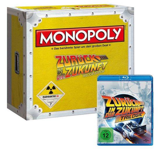 Winning Moves Spiel, Brettspiel »Monopoly Zurück in die Zukunft Collector's Edition (mit Blu-Ray)«