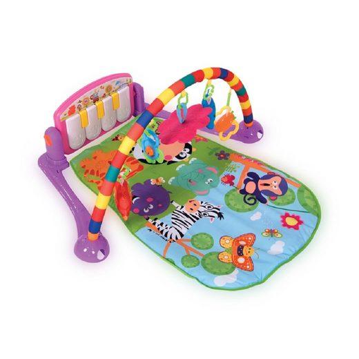 Lorelli Spielbogen »Spielcenter Piano«, Musik 4 Spielfiguren 1 Spiegel ab Geburt