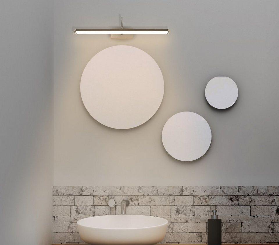 TRANGO LED Spiegelleuchte, 20 Modern IP20 LED Spiegelleuchte FLEXI  Badleuchte 20mm lang mit schwenkbar und drehbar Flexarm Schminklicht, ...