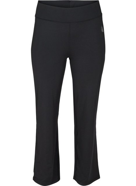 Hosen - Active by ZIZZI Sporthose Große Größen Damen Einfarbige flared Hose mit Stretch ›  - Onlineshop OTTO