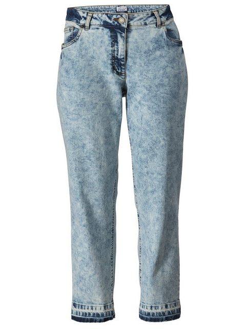 Hosen - Angel of Style by HAPPYsize 5 Pocket Jeans in modischer Waschung ›  - Onlineshop OTTO