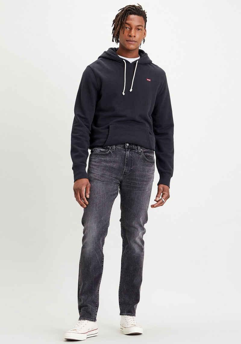 Levi's® Kapuzensweatshirt mit kleinem Batwing-Logo