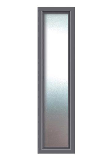 KM MEETH ZAUN GMBH Seitenteile »S01«, für Alu-Haustür, BxH: 60x208 cm, anthrazit