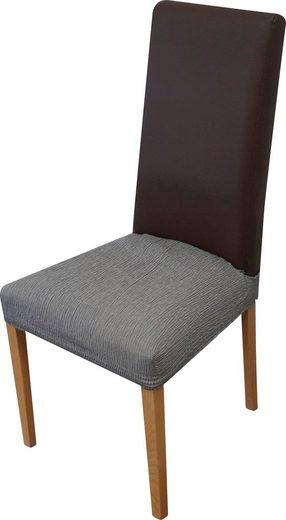 Sitzflächenhusse »Teide«, Dohle&Menk, monoelastische Stretchware mit hohem Baumwollanteil