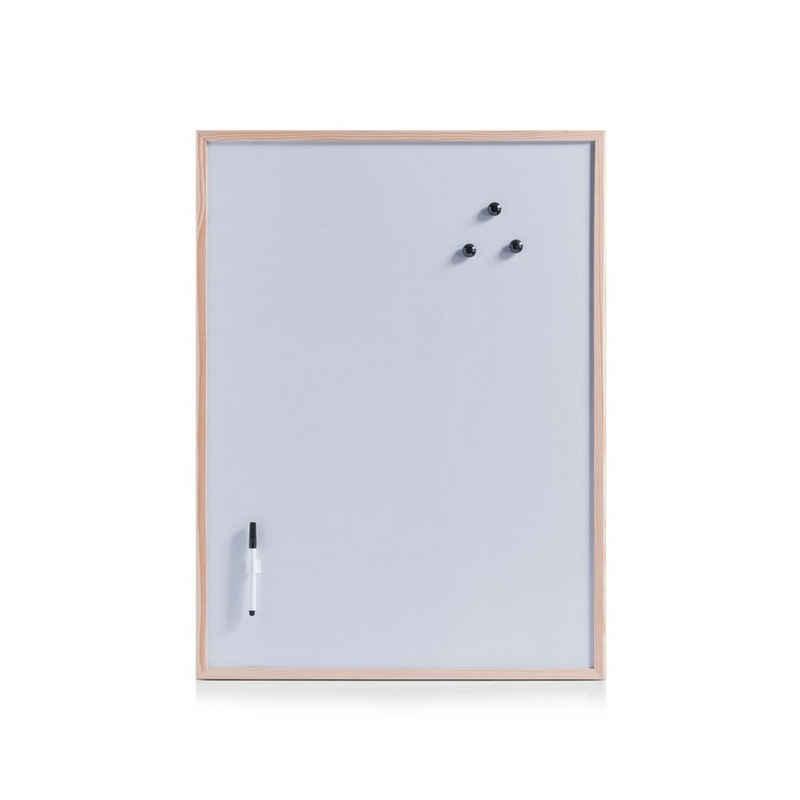 HTI-Living Pinnwand »Magnettafel-Set aus Kiefernholz«, Magnettafel