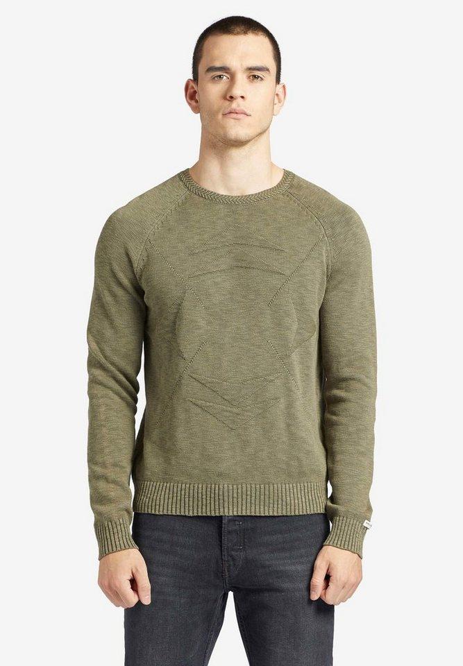 khujo -  Strickpullover »RAGNAR« aus reiner Baumwolle im Regular Fit