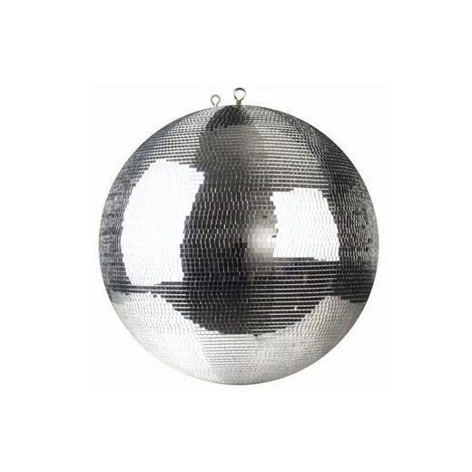 SATISFIRE Discolicht »Spiegelkugel 40cm silber - Safety - Diskokugel Echtglas - 7x7mm Spiegel PREMIUM«
