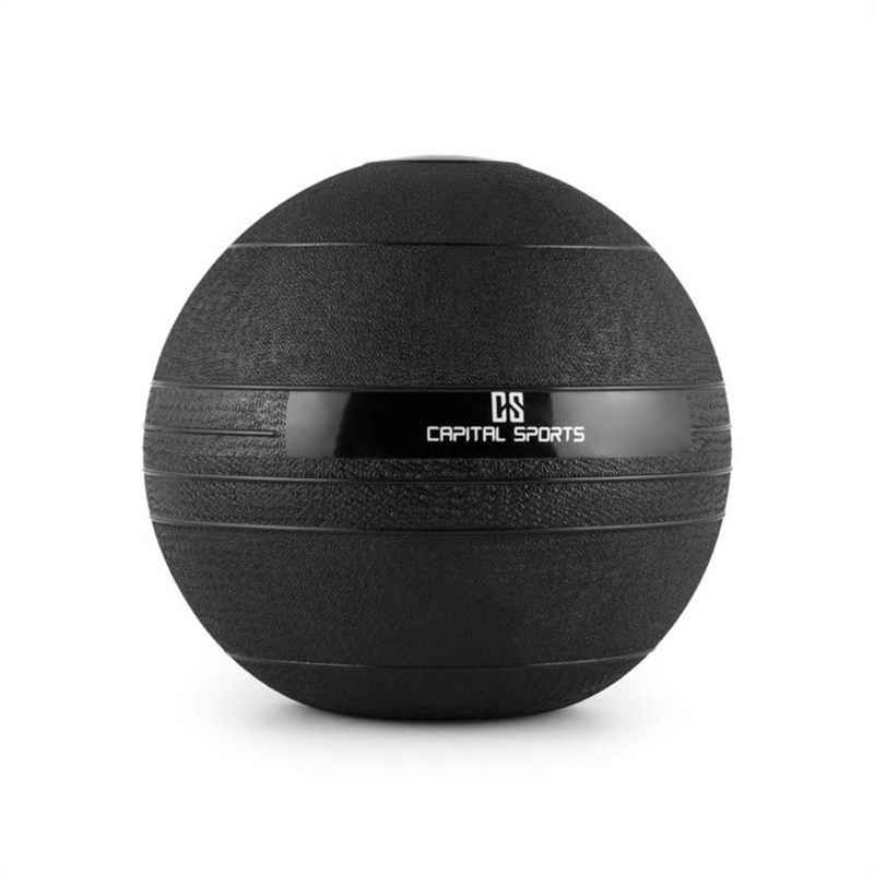Capital Sports Medizinball »Groundcracker Slamball schwarz Gummi 12kg«