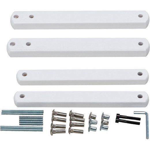 Geuther Bettschutzgitter »Zusatzklemmen für Treppenschutzgitter, Buche«