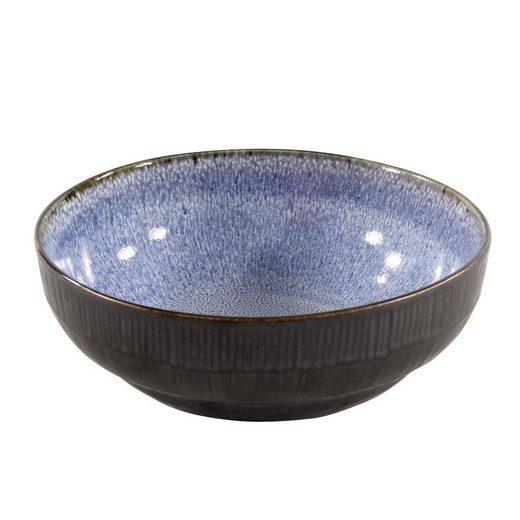 Neuetischkultur Servierschale »Schale Ø 17 cm New Blue«, Keramik