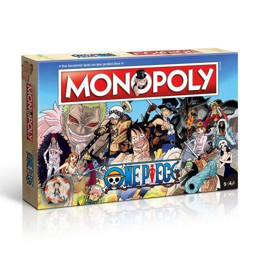 Winning Moves Spiel, Brettspiel »Monopoly One Piece«