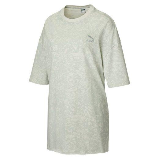 PUMA T-Shirt »Allover-Print Übergroßes Damen T-Shirt«