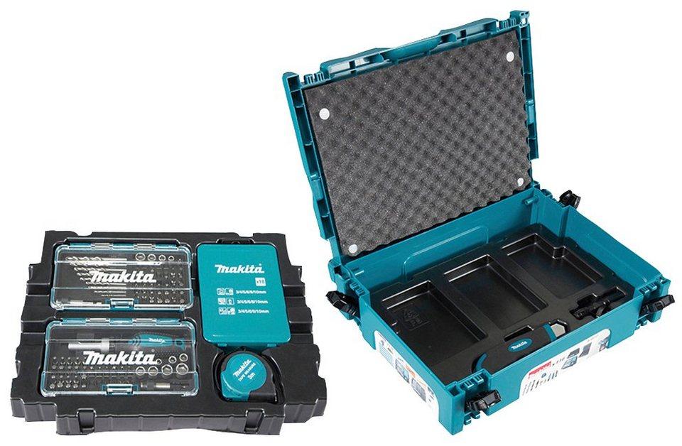 Makita Werkzeugset B 49884 116 St Inkl Makpac Koffer Zum Idealen Verstauen Online Kaufen Otto