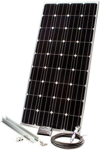 Sunset Solarmodul »Caravan-Set 140 Watt, 12 V«, 140 W, Monokristallin, (Spar-Set, 7-St), für Reisemobile und Fahrzeugdächer