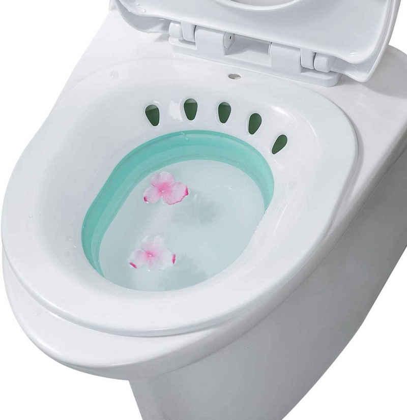 Favson Badewanne »Bidetbecken,Faltbar Bidetschüssel Sitzbadewanne Sitzbäder, Sitzbad, Bidet Einsatz Toiletteneinsatz«