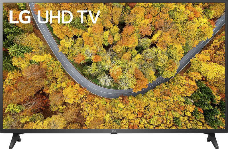 LG 55UP75009LF LCD-LED Fernseher (139 cm/55 Zoll, 4K Ultra HD, Smart-TV, LG Local Contrast, Sprachassistenten, HDR10 Pro)