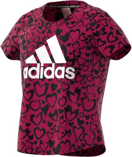 adidas Performance T-Shirt »GIRLS MUST HAVE GRAPHIC TEE«