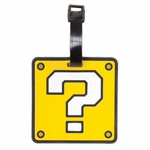 Nintendo Kofferanhänger »Nintendo Question Block Kofferanhänger Neu«