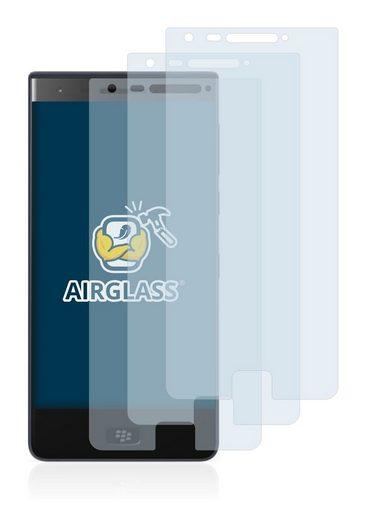 BROTECT Schutzfolie »Panzerglasfolie für BlackBerry Motion 2018«, (3 Stück), Schutzglas Glasfolie klar