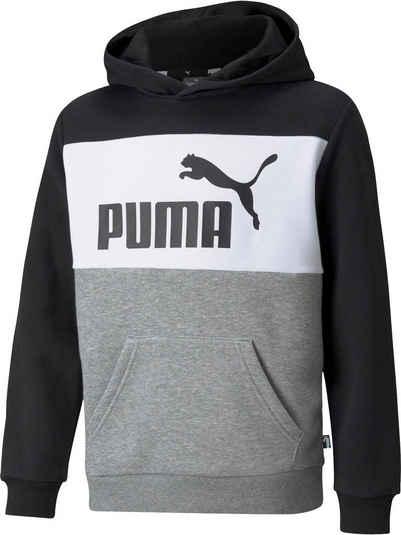 PUMA Kapuzensweatshirt »ESS+ Colorblock Hoodie Fleece«