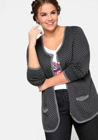 Sheego Megztinis in Trachtenoptik