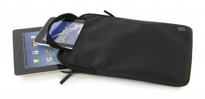 "Tucano Tablet-Hülle »Mini Sleve with Handles for Netbook 10"" / Tablet 10"", Black«"