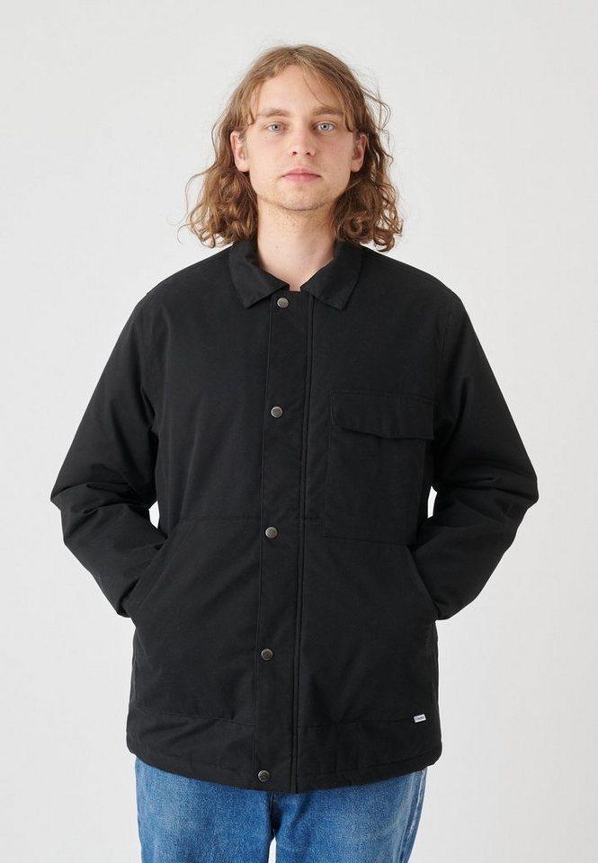 cleptomanicx -  Winterjacke »Coaches Coat« mit verschließbarer Innentasche